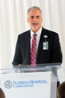 Florida Hospital Carrollwood President and CEO Joe Johnson speaks at the unveiling event