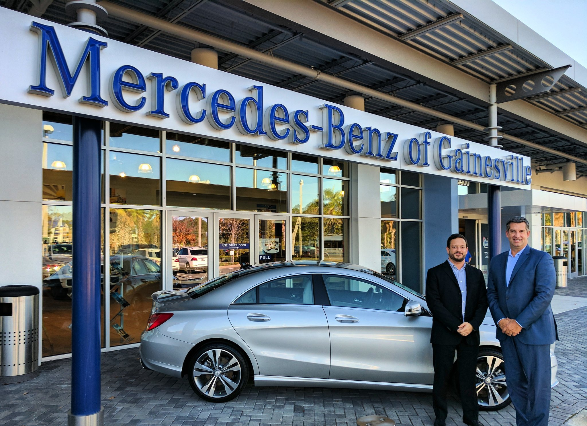 Mercedes benz dealer gainesville florida fiat world test for Jacksonville mercedes benz dealership