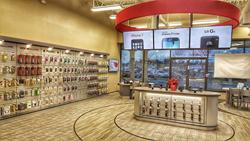 Cellular Sales Brewster store interior