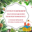 Attention Last Minute Shoppers: Rhode Island Red Food Tours E-Gift Certificates Make Perfect Last Minute Gifts And Are 15% Off Until Midnight December 24