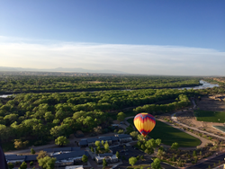 Pre-order the 2017 Official Albuquerque Visitors Guide for a chance to win a hot air balloon ride for two. Photo by Brenna Moore.