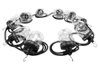 50' String Light Set for Temporary Construction Sites