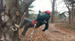 Tree Climbing School Students Graduate Giroud Tree and Lawn's Inaugural Course