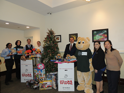 The Inn at Longwood Medical Gives Back to Toys For Tots