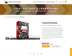 FCPX - TransChristmas - Pixel Film Studios Plugin