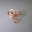 Copper wire wrap ring from Lexi Butler Designs,