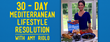 "Award-Winning Chef and Mediterranean Expert Launches ""30 Day Mediterranean Lifestyle Resolution"""