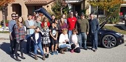 Carl Reese, Deena Mastracci, Tom Delgado Family and Friends