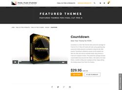 FCPX Plugin - Countdown - Pixel Film Studios