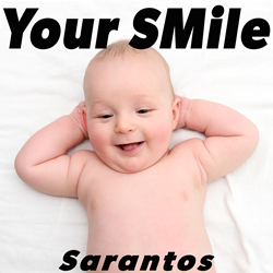 Sarantos song artwork Your SMile solo music artist Voice of Chicago new pop rock free release Operation Smile Charity
