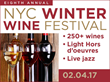 New York Wine Events to Present its 8th Annual NYC Winter Wine Fest in Times Square, Saturday, February 4 at the PlayStation Theater