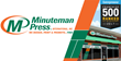 Minuteman Press is ranked #1 in category by Entrepreneur in 2017 for the 14th straight year and 25 times overall. Minuteman Press is the world's largest design, printing, and marketing franchise.