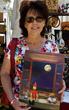 Artist and Graphics Designer Francesca Benevento at Gioia Company Jan. 15th in Los Gatos