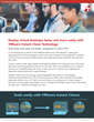 Principled Technologies Examines the Speed of Virtual Desktop Deployment with VMware Instant Clone Technology and Citrix PVS