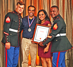 Dr. Nirav Patel from Irving Texas Joined Forces With U.S. Marines' Toys For Tots Literacy Campaign