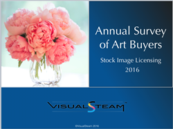 Cover Image of the 2016 Survey of Art Buyers on Stock Imagery