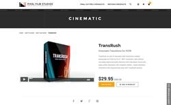 TransRush - FCPX - Pixel Film Studios Plugin