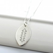 Personalized Football Necklace from DesignMe Jewelry