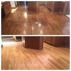 Royal Wood Floors - New Hard Wood Floor Job for Mayor of Brookfield, WI