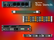 NetZoom™ Visio® Stencils Library Updated for Data Center and Network Devices from Dell Computer, Panduit, Riverbed Technology, NetApp and More Manufacturers