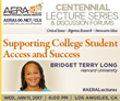 Leading Researcher Bridget Terry Long to Address College Student Access and Success at Los Angeles Event on January 11