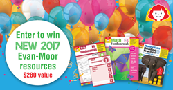 image of Evan-Moor teacher giveaway contest