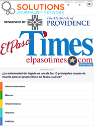 Spanish-Language Version of the El Paso Times and OfferCraft Built a Liver Disease Trivia Quiz