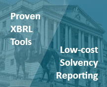 Proven and low-cost XBRL software for Solvency II reporting