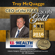 Troy McQuagge Wins Gold in the 2016 One Planet Business and Professional Excellence Awards