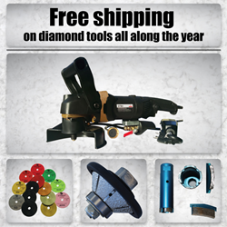 Free Shipping on Diamond Tools