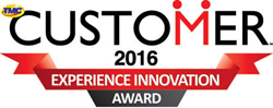 2016 Customer Experience Innovation Award