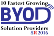 Silicon Review Magazine Names SyncDog One of the 10 Fastest Growing BYOD Vendors of 2016