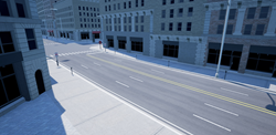 San Francisco scene built with Conform, featuring advanced road generation.