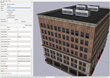 High fidelity building generated with Conform's Procedural Model Generation System (PMGS).