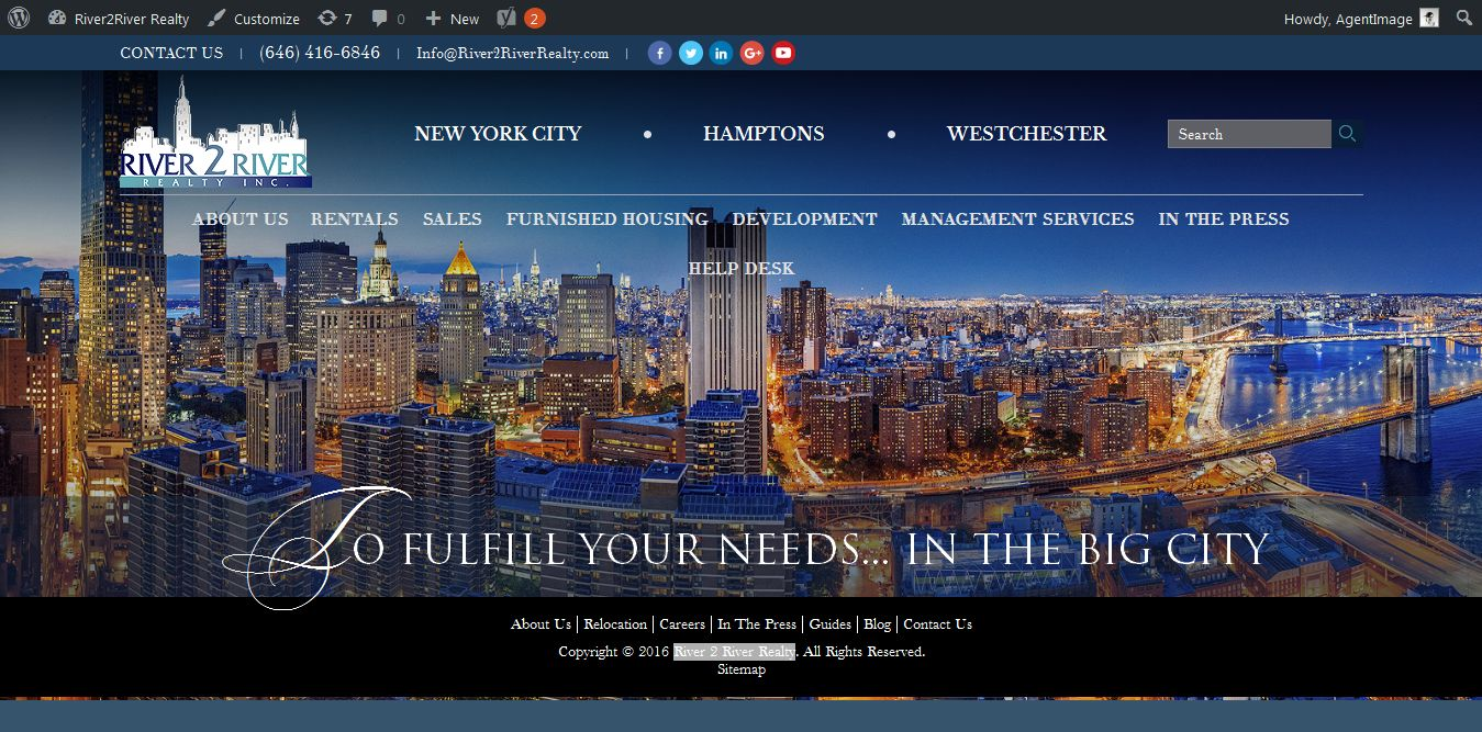 Billion dollar new york realty company launches new and for Luxury homes for sale new york