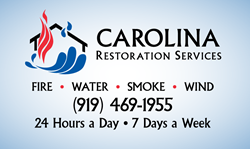 Carolina Restoration Services is the largest family-owned and operated full-service disaster restoration firm in NC.