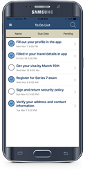 Event app to-do lists help participants complete tasks and monitor progress