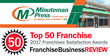 Minuteman Press International Franchisees' Positive Feedback Earns it a Spot on Franchise Business Review's 2017 Top Franchises List