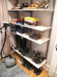 Shoe Storage Inside Closet