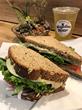 Mogollon Moose Bakery, Veggie & Hummus Sandwich