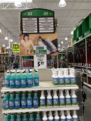 Extreme Kleaner End Cap At Menards