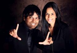 Dr. Arvind Philomin and Dr. Divya Adusumilli of Esthetix Dental Spa