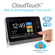 Lathem Launches New WiFi Web-Enabled Time Clock, CloudTouch™, with Advanced Biometric Fingerprint Technology