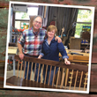 "Reclaim, Recycle and Upcycle with Co-Hosts Scott and Suzy Phillips in Season 24 of ""The American Woodshop"""