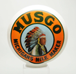 Musgo OPB Milkglass Globe, Estimated at $15,000-30,000