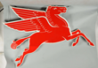 Pegasus Cookie Cutter Porcelain Sign, Estimated at $4,000-7,000