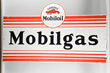 Mobilgas Mobiloil Gargoyle Diecut Porcelain Sign, Estimated at $4,000-6,000