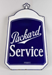 Packard Service Radiator Shaped Porcelain Sign, Estimated at $6,000-9,000