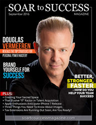 Douglas Vermeeren, The Speaking Business Multiplier on the cover of Soar to Success