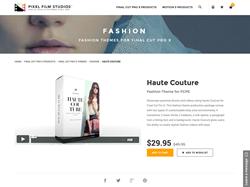 Pixel Film Studios Plugin - Haute Couture - FCPX